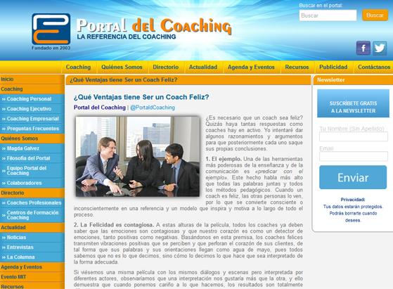 Elportal del coaching