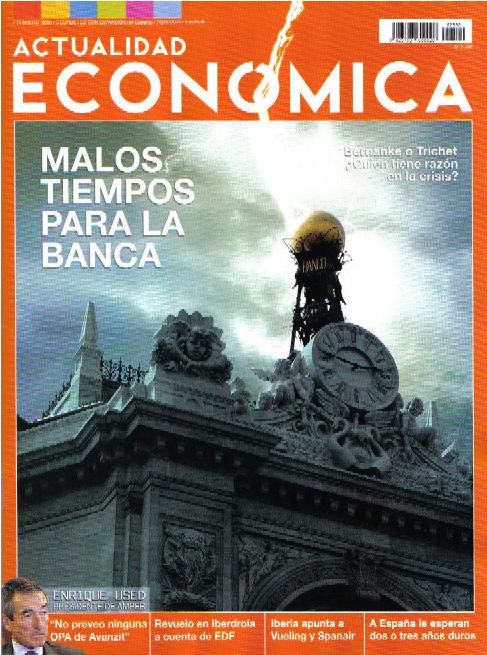 Articulo en Actualidad Economica