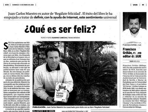 Articulo en Diario Sur