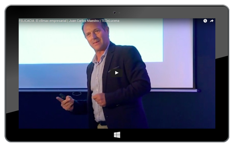 TED x Lucena| Video sobre la Felicacia| El clímax empresarial