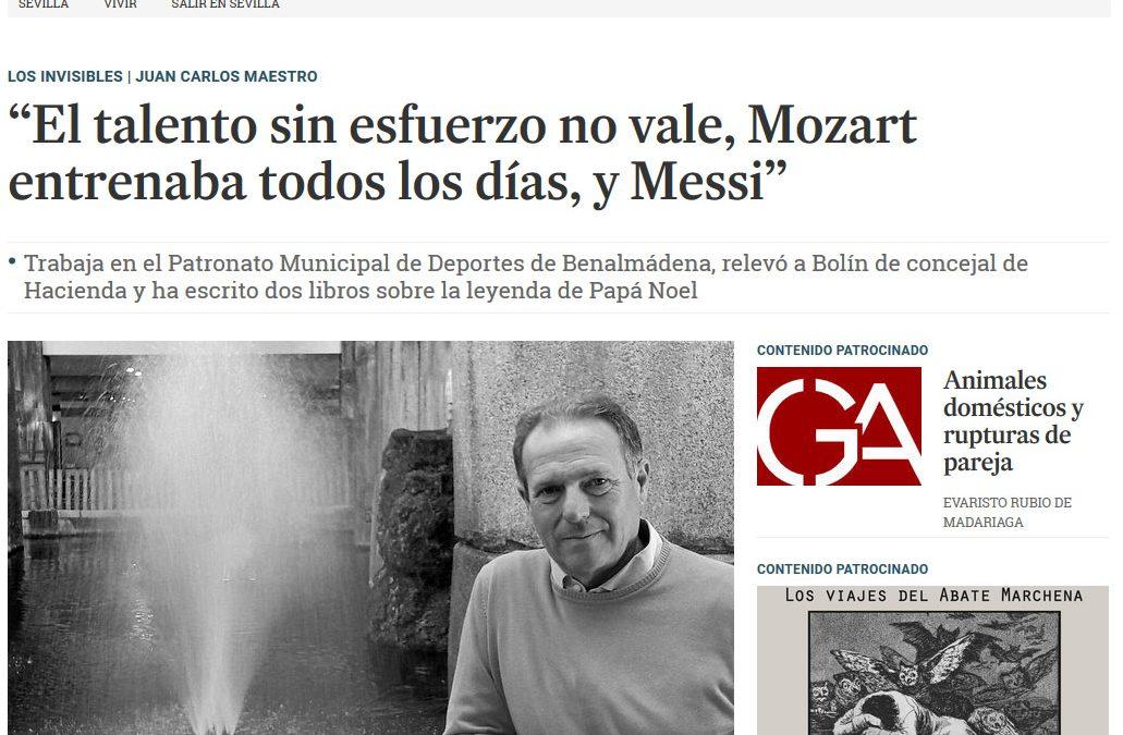 Entrevista en Diario de Sevilla