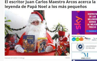 Entrevista a Juan Carlos Maestro en Europa Press Andalucía